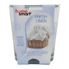 Home Smart Fresh Linen Candle 3oz