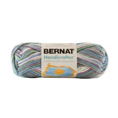 Bernat Handicrafter Cotton Ombre Yarn 40g Freshly Pressed