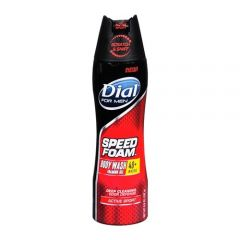 Dial For Men Body Wash Foam Gel Active Sport 192g