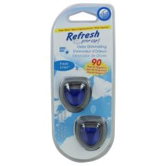Refresh Your Car Mini Diffusers Fresh Linen 2 Clip