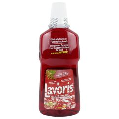 Lavoris Fresh Breath Mouthwash Original Cinnamon  1 l
