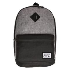 Roots Backpack Grey and Black