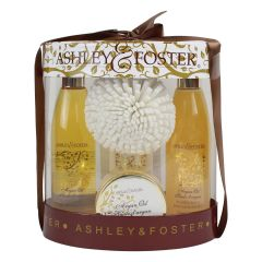 Ashley & Foster Argan Oil Bath Gift Set 250ml