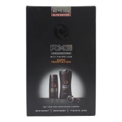 AXE Dark Temptation 2 + 1 Gift Set with Fisheye Lens