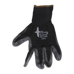 BDG Nitrile Coated Gloves Black Large
