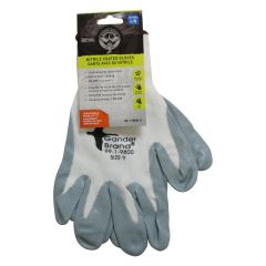 BDG Nitrile Coated Gloves White Large