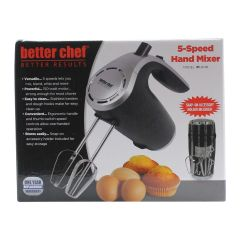 Better Chef 5 Speed Hand Mixer