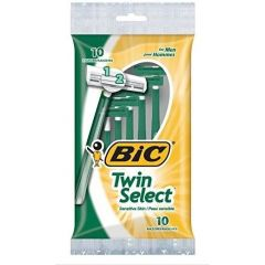 BIC Twin Select For Sensitive Skin Razor 10Pk