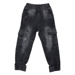 Billy Wear Cargo Jeans Black Size 4-6X