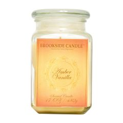 Brookside Candle Amber Vanilla Scented Candle 17oz
