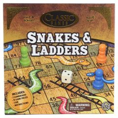 Classic Games Snakes & Ladders