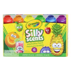 Crayola Silly Scents Washable Kids Paint 6Pk
