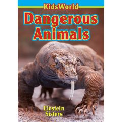 Kids World Dangerous Animals Book