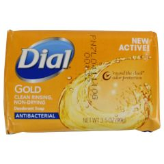 Dial Gold Antibacterial Bar Soap 3.5 oz 1 Bar