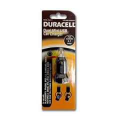 Duracell Dual Mini USB Car Charger