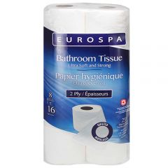 Eurospa Bathroom Tissue 8 Roll Pack