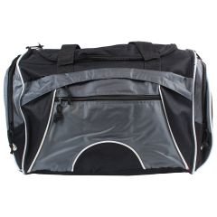 Pedigree Sports Duffle Bag Grey & Black
