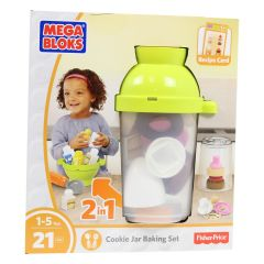 Fisher-Price Mega Bloks Cookie Jar Baking Set