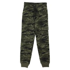 Billy Wear Boys Fleece Camo Cargo Joggers
