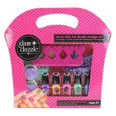 Glam Dazzle Neon Nail Art Kit