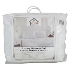 Home Essentials Luxury Filled Mattress Pad Queen