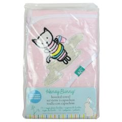 Honey Bunny Hooded Terry Towel