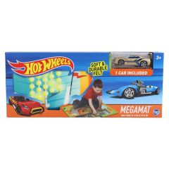 Hot Wheels Mega Playmat with bonus Hot Wheels Race Car