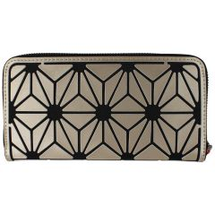 KG&B Geometric Wallet Gold Large