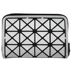 KG&B Geometric Wallet Silver Small