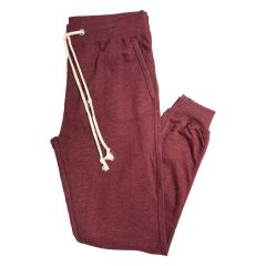 U.S. Vintage by Exist Fleece Joggers Red