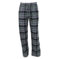 Memphis Blues Plaid Flannel Sleep Pants