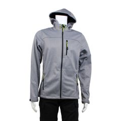 Motion Gear Soft Shell Jacket Grey