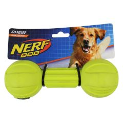 Nerf Dog Barbell Chew Toy Large
