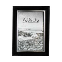 Pebble Bay Photo Frame Black 4 X 6 Inch