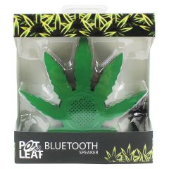 Pot Leaf Bluetooth Speaker Green