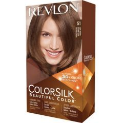 Revlon ColorSilk  Hair Colour - #51 Light Brown