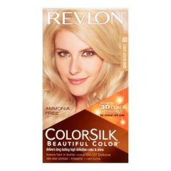 Revlon ColorSilk 3D Color Gel Technology Hair Colour - Light Ash Blonde #74