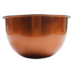 Copper Look Salad Bowl Small