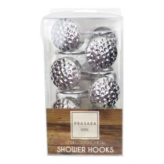 Prasada Collection Decorative Shower Hooks 12Pk