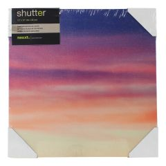 Shutter Purple Haze 3 Canvas Print 12 x 12 Inch