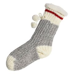 Great Northern Sherpa Lined Anti-Skid Socks