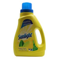 Sunlight Laundry Detergent 2x Lemon Fresh 1.47ltr
