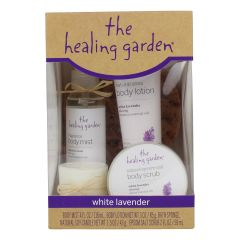 The Healing Garden Collection White Lavender 5 Pieces