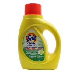 Tide Simply Clean and Fresh Liquid Laundry Detergent Day Break Fresh Scent 1.18 Liter