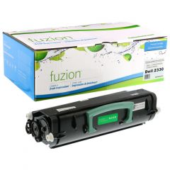 fuzion™ Re-manufactured Dell 2330DN Toner Cartridge Black