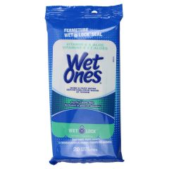 Wet Ones Vitamin E & Aloe Wipes 20PK