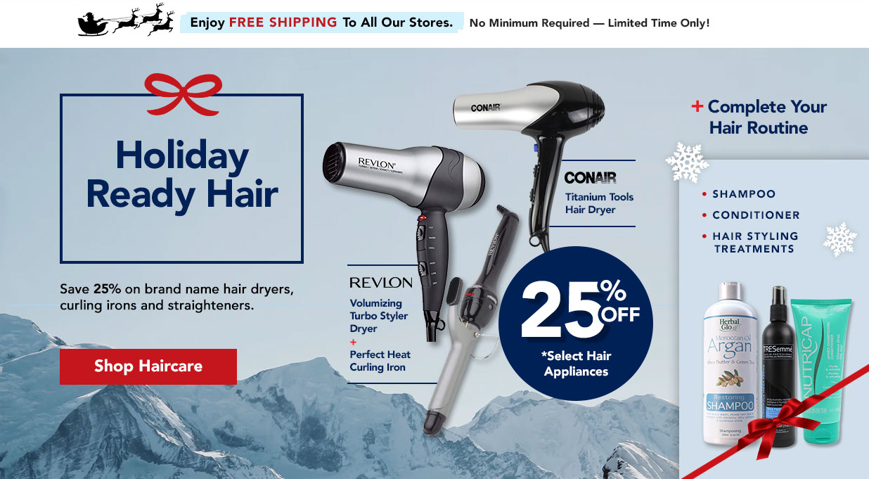 FIELDS 25% Off Hair Styling Tools - Save on dryers. curling irons, & straighteners