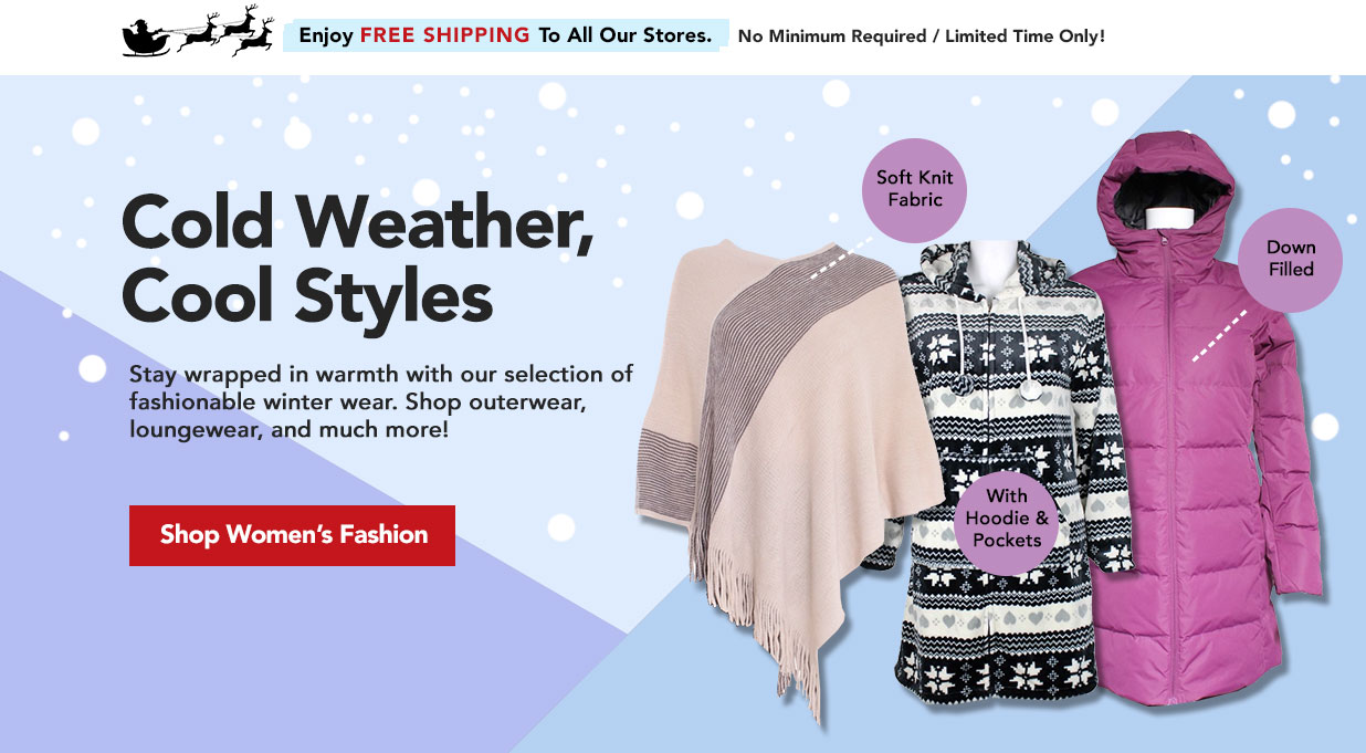 FIELDS Womens Winter Fashion - Shop Ponchos, Robes, Parkas, Jackets