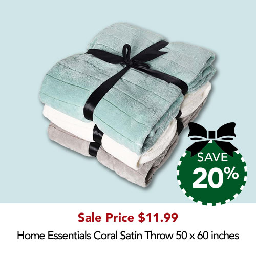 20% off throws