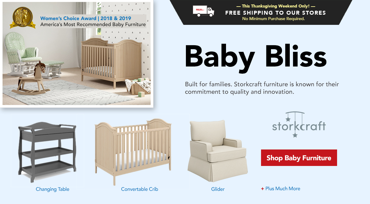 FIELDS Baby Furniture Storkcraft